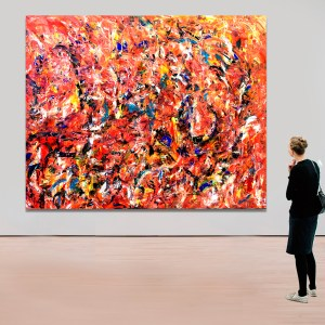 True Romance - Abstract Expressionism by Estelle Asmodelle