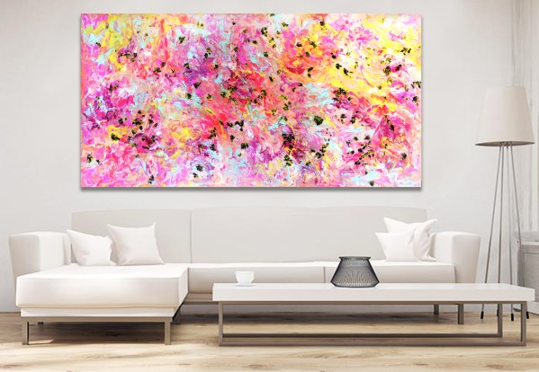 Life not as we know it - Abstract Expressionism by Estelle Asmodelle