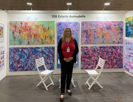 The Other Art Fair - abstract expressionism by Estelle Asmodelle