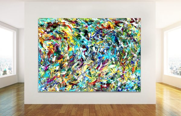 The Diversity of Life - Abstract Expressionism by Estelle Asmodelle