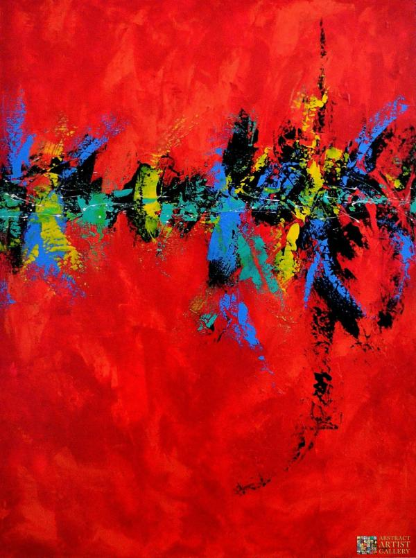 Abstract Art Painting Passion
