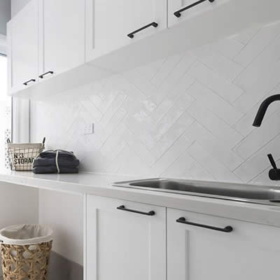 Laundry renovations and installation Perth. Custom designed laundries and quality installers Perth.