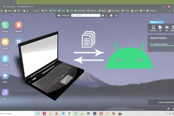 Android Wireless File Transfer