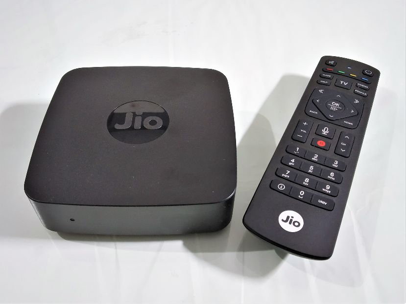 Jio Set Top Box With Remote