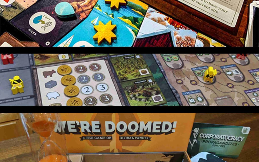 Will's Top Five Board Games of 2019