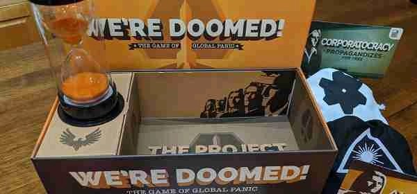 We're Doomed! board game. One of Will's top five.