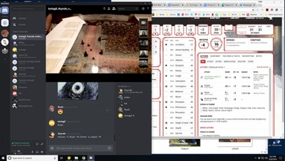 Using Discord for an online RPG