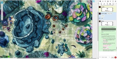 Using Roll20 for an online RPG