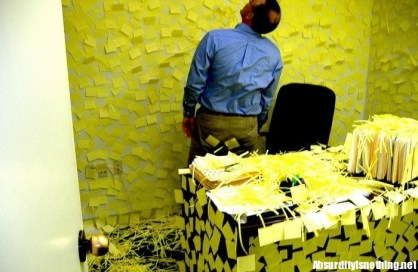 Post-it Prank