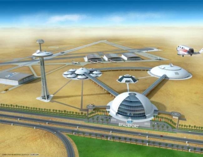 dubai-UAE Spaceport