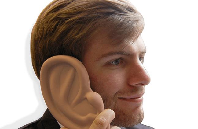 orecchio cellulare