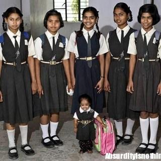 La bambina più piccola del mondo - Jyoti Amge