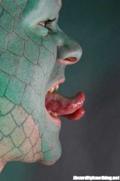 Erik Sprague - The Lizard Man - Tongue
