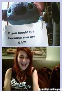 Se stai ridendo significa che sei gay - Chatroulette