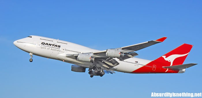 Un aereo Qantas