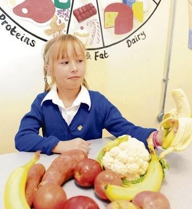 Bolsi. la bambina allergica al cibo