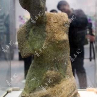 Artista Cinese realizza una copia della Venere di Milo utilizzando escrementi