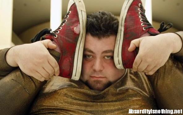 Matt Alaeddine - Contorsionista obeso