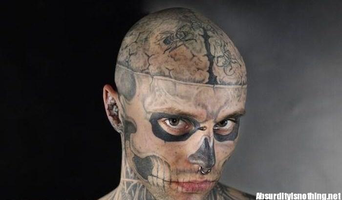 Rick Genest - Zombie Boy, quando la stravaganza diventa un successo