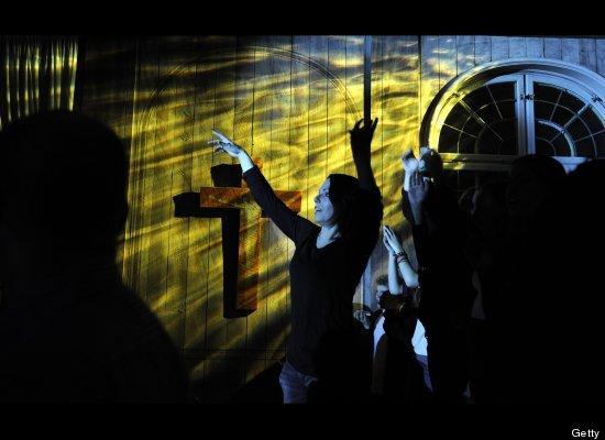 Techno in chiesa (1)