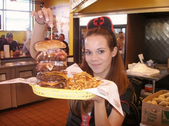 heart attack grill, infarto