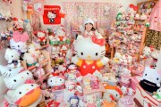 Asako Kanda e la più grande collezione di Hello Kitty (1)