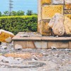 Fulmine colpisce una statua: rimane solo il seno (1)