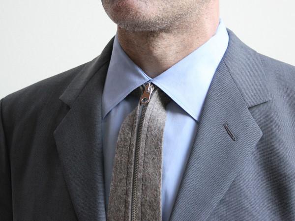 Troppo difficile annodare una cravatta? Arriva la cravatta-zip (3)