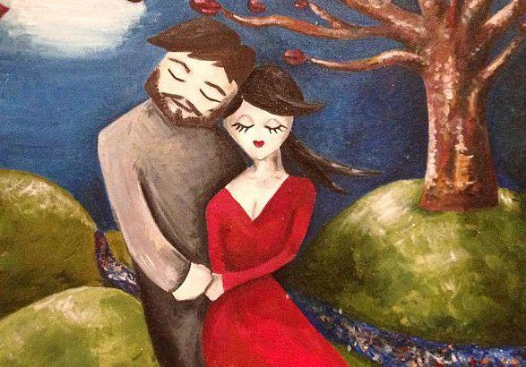 Dipinge l'uomo della sua vita due mesi prima di conoscerlo (1)