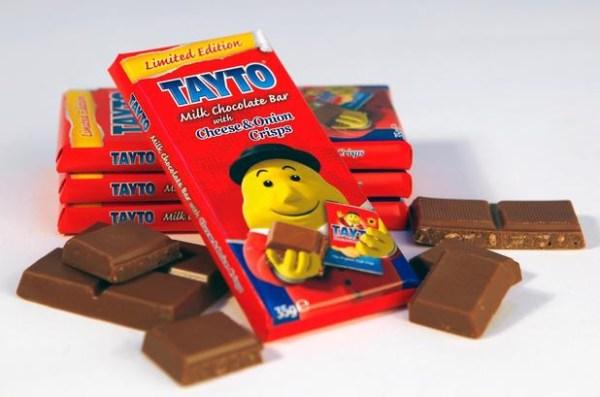 Cioccolato al formaggio e cipolla