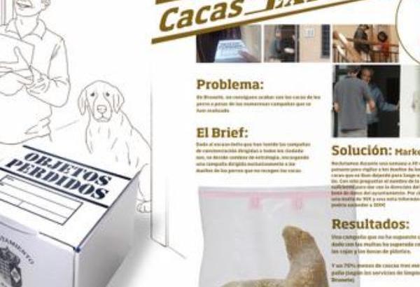 Paese spagnolo rispedisce la pupù dei cani a casa dei proprietari