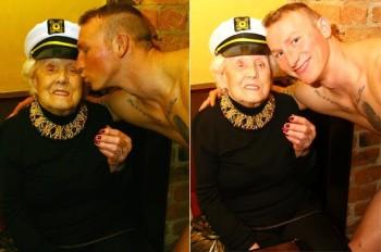 Assume uno spogliarellista per il suo 100esimo compleanno (2)