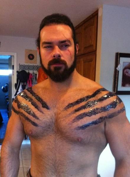 Fan di Game Of Thrones si trasforma in Khal Drogo (3)