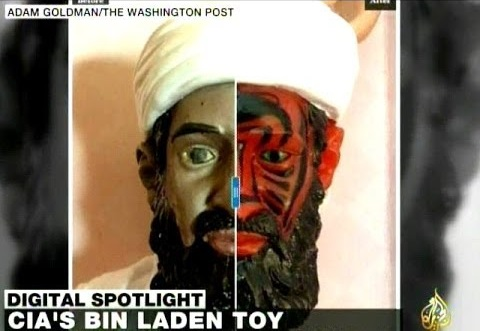 Action figure di Osama Bin Laden