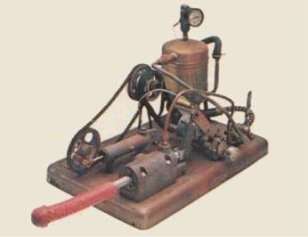 Manipulator, vibratore a vapore