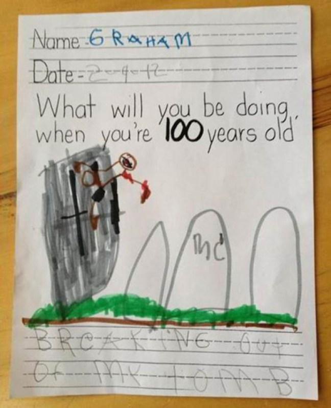 I 10 disegni più grotteschi fatti dai bambini (2)