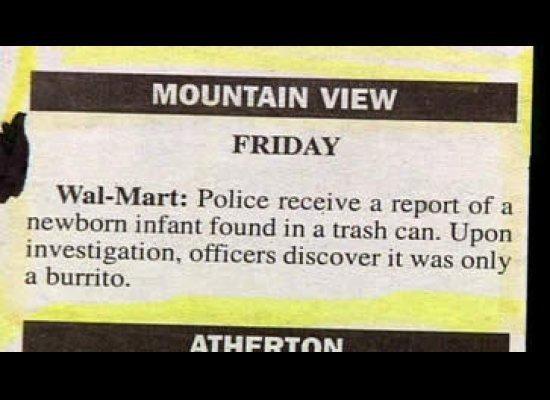 Registri della polizia, police blotters (7)