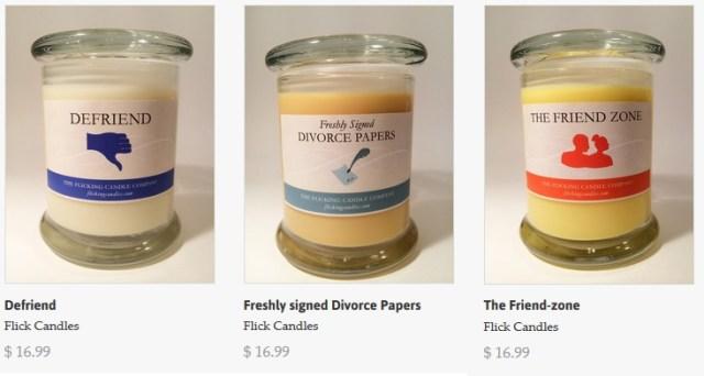 Candele al profumo di friendzone, divorzio