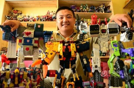 Collezione di Transformers