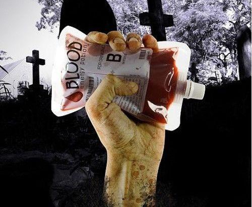Sacche di sangue bevibile