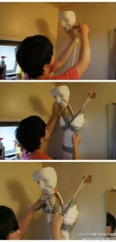 Trasforma la doccia in una bambola (3)