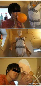 Trasforma la doccia in una bambola (2)