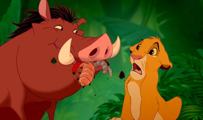 Pumbaa e Simba | Mangiare insetti