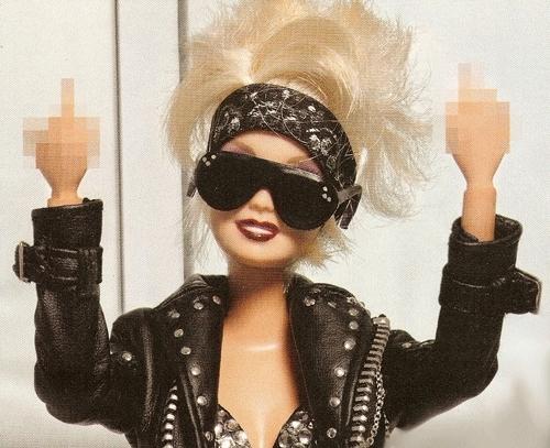 Barbie impreca