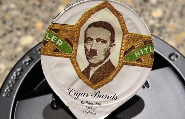 Capsule del caffè raffiguranti Hitler