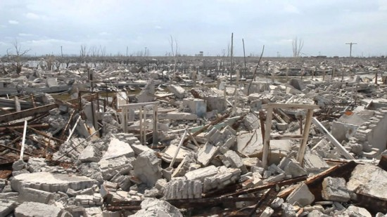 Epecuen sommerso dal lago