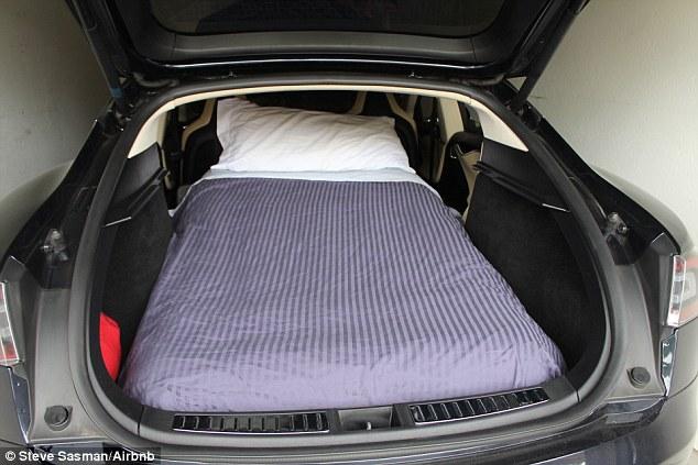 Affitta il bagagliaio della sua automobile di lusso per $85 a notte