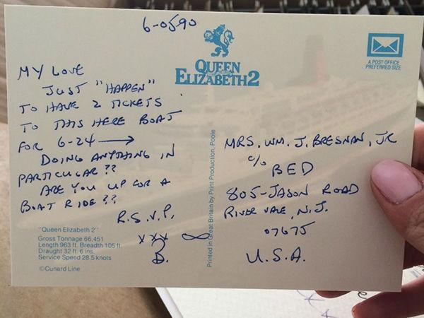 Scrive una lettera d'amore al giorno alla moglie da 40 anni (2)