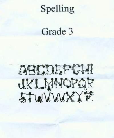 Alfabeto Kamasutra ai bambini per sbaglio