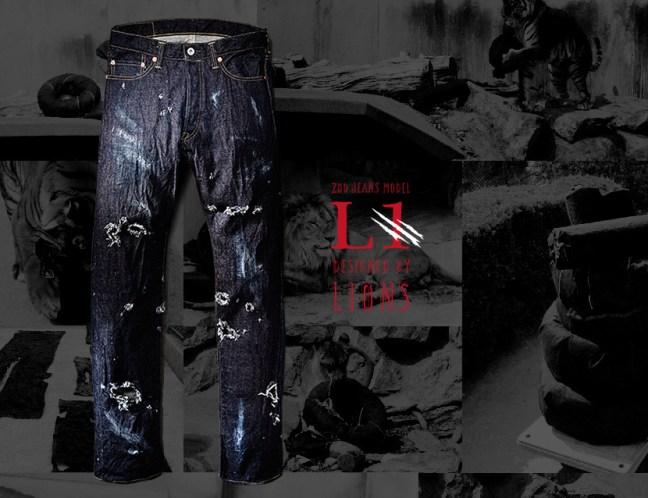 Giappone, a ruba jeans graffiati e morsi dai leoni